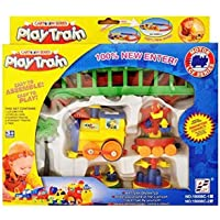 Digital Zone Cartoon Series Play Train Toy with Track for Kids( Multi Color )
