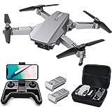 Tomzon D25 RC Drone con cámara 4K, Drone para Principiantes, Posicionamiento de la luz, Fotografía de Gestos con Las Manos, V