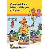 Vorschulblock - Zahlen und Mengen ab 5 Jahre, A5-Block: 627