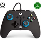 PowerA Enhanced Wired Controller for Xbox - Blue Hint, Gamepad, Wired Video Game Controller, Gaming Controller, Xbox Series X