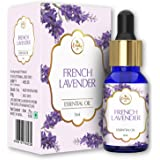 The Beauty Co. French Lavender Pure & Natural Essential Oil For Aromatherapy, Massage & Aroma Diffusers And Alleviates Anxiet