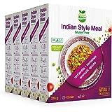Veggie&Nature, Preparato vegan per piatto in stile indiano, confezione da 5 x 216 g