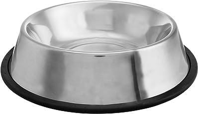 Choostix Dog Feeding Bowl Steel, Large (1 Piece)