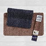 Tesar – Alfombra Magic Mat (45x75cm) Negro Entrada a casa, Pasillo, Lavadora, habitación, Absorbente para Exterior e Interior