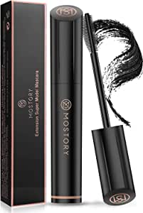 Waterproof Black Lash Mascara - 4D Silk Fiber Volume Waterproof Natural Extention Mascara Thickening Lengthening Long Lasting Thick Volumious Eyelash Blackest