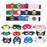 Topways® Máscaras de superhéroes Pulseras ninos, artículos de Fiesta Máscaras de superhéroes y Disfraces Cosplay Pulseras par