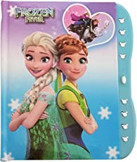 My Party Suppliers Small Frozen Elsa & Anna Lock Diary (Multicolour, frndry2)