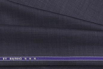 Raymond Men's Unstitched Trouser (Dark Blue, 1.3 Meter)