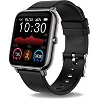 Smartwatch, 1.4 inch touch color display Smart watch with heart rate monitor, sleep monitor, fitness ...