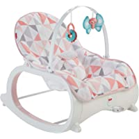 Fisher-Price Infant-to-Toddler Rocker, Pink Windmill