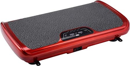 VibroSlim Tone Vibrationsmaschine Plattform Power Fitnessmaschine - 3 Jahre Garantie; DVD, Poster und Armriemen Inklusive