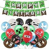 BESLIME Globos de Fiesta Cumpleaños 24 piezas Decoraciones Fiesta Cumpleaños Globos de Látex para la Decoración de la Fiesta