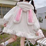 Yunbai Lolita Dress Dress Giapponese Stile Giapponese Autunno Inverno Donne Dolce Giacca Calda Kawaii Soft Lambswool Ruffles