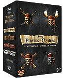 Pirates des Caraïbes - La quadrilogie : La malédiction du Black Pearl + Le secret du coffre maudit + Jusqu'au bout du monde + La fontaine de Jouvence