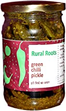Rural Roots Green Chilli Pickle (200gm)