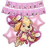Decoración Cumpleaños Birthday Party Foil Balloons, Patrulla Canina Remolinos Decoraciones Patrulla Canina