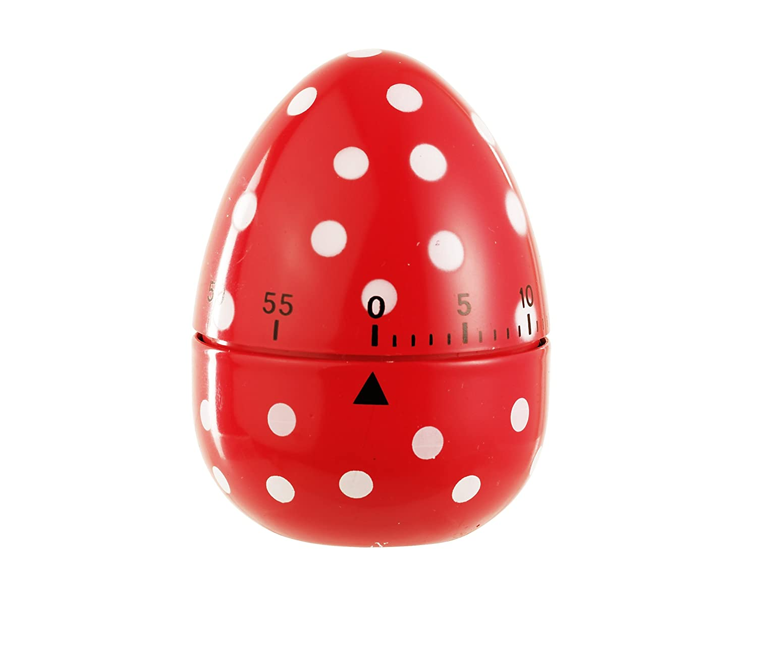 Ikea Ordning Kitchen Timer Eddingtons 60 Minute Egg Timer Red Spotted Amazoncouk Kitchen