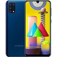 Samsung Galaxy M31 Mobile Phone; Sim Free Smartphone - Blue (UK version) [Amazon…