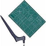 Exuberia 2 Pcs Outils De Coupe D'artisanat avec Outil De Coupe d'art À 360 Degrés Rotation, Outil De Découpe d'art pour Artis