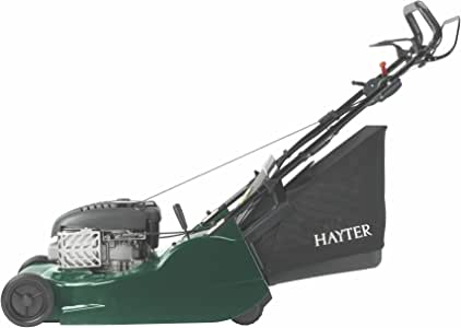 Hayter 561 Harrier 56 Electric Start Vs Petrol Lawnmower