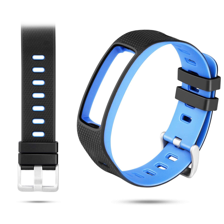 WADEO Impermeable Bluetooth Fitness Tracker Pulsera Reloj Pulsera Inteligente Banda de Repuesto Ajustable Sport… 1