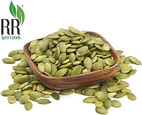R R Agro Premium Pumpkin Seeds (High in Protein,Premium & Gluten Free Superfood) Pack of (250)