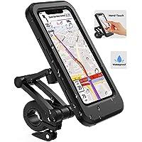 Lifelf Portacellulare per bicicletta, porta smartphone impermeabile con touch screen, ruotabile a 360°, regolabile in…