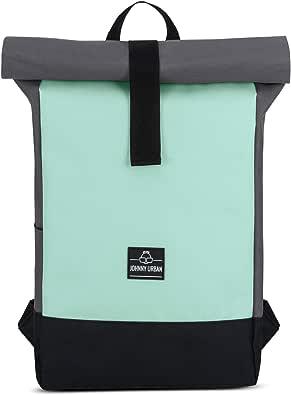 Johnny Urban Rolltop Rucksack Damen & Herren RYAN Roll Top Backpack aus Recycelten PET-Flaschen - Lässige Rucksäcke für Freizeit, Uni & Schule, Wasserabweisend, Flexibel & mit Laptop Fach