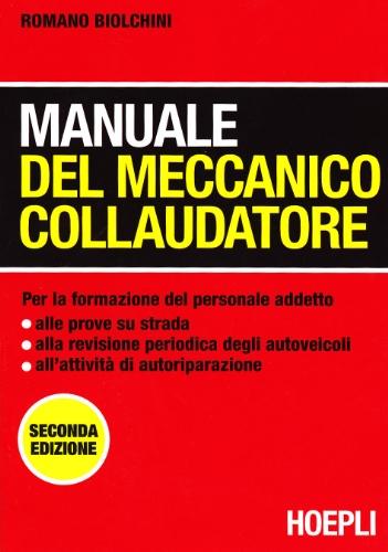 Manuale del meccanico collaudatore