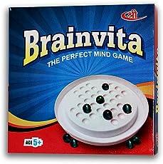 Art Bundle Challenging Brainvita Game Junior for Kids to Build Their Mind and Develop Brain