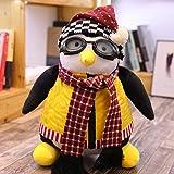 Hug Pingouin Jouets en Peluche Pingouin Hugsy Peluche Rachel Peluche poupée Jouet Peluche poupées Cadeau de noël 27 cm Taille