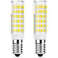 DiCUNO Ampoule LED E14 hotte 5W, équivalent halogène 50W, 550LM, Blanc froid 6000K, Petite vis edison, Non dimmable, 2…