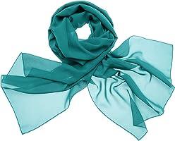Dresstells, Femme pashmina châle écharpe étole en mousseline polyester printemps/été