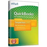 QuickBooks SimpleStart 2012, 1 User (PC)