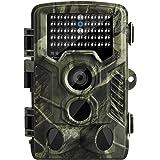 """MixMart Wildkamera Jagdkamera 16 MP 1080P HD IP65 Wasserdicht 120° Weitwinkel 20m Nachtsicht 2.0"""" Display mit Bewegungsmelder Überwachungskamera Fotofalle für Outdoor Natur Garten Haussicherheit"""