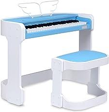 FunKey DP-49 Keyboard mit 49 Tasten im Digitalpiano-Design, blau