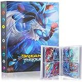 Pokemon verzamelalbum, Guboom Pokemon kaarten album Pokemon-kaarthouder, verzamelalbum compatibel met Pokemon GX EX trainer,
