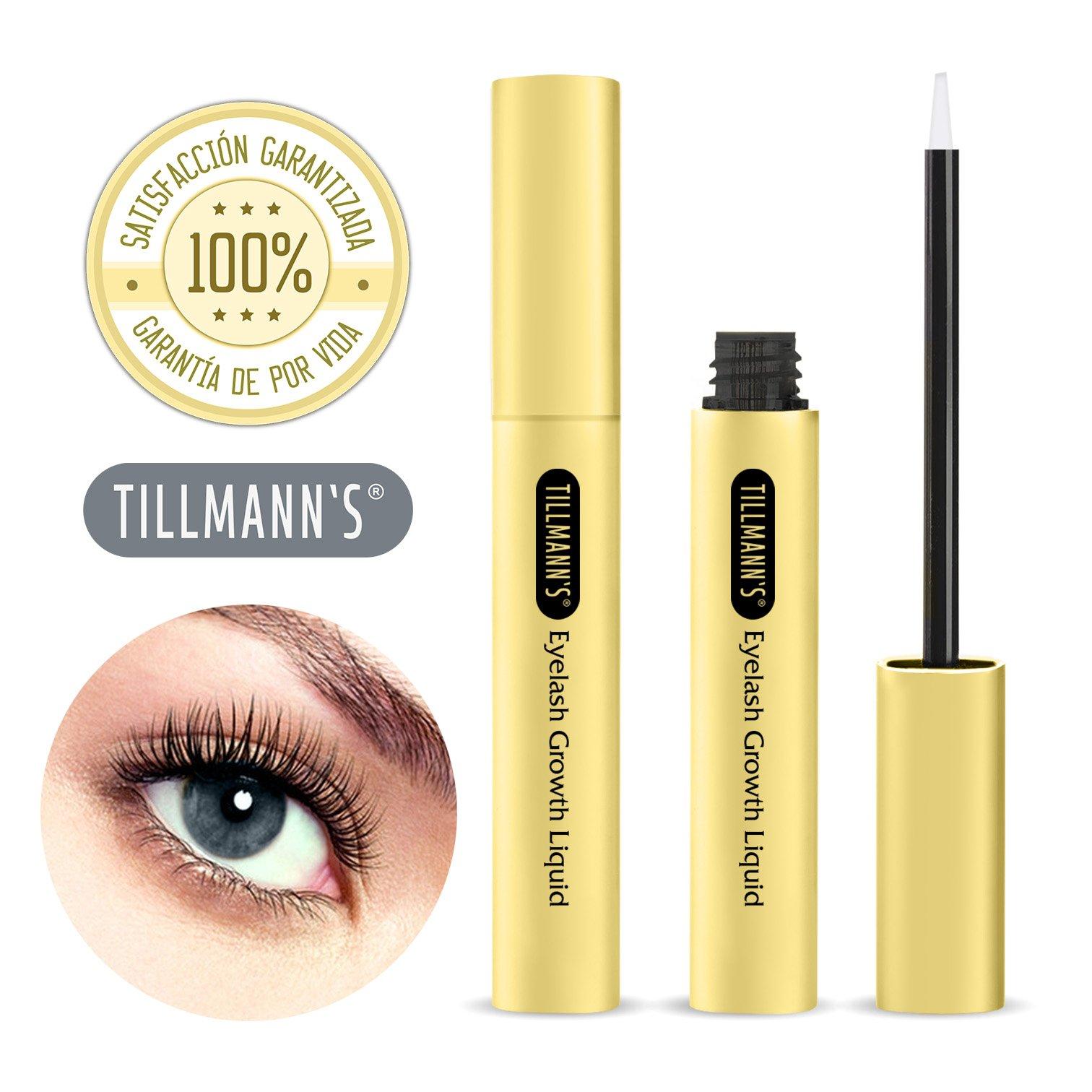 Tillmann's® Serum Pestañas – Crece Pestañas Tratamiento – Para Tener Pestañas Largas Y Volumen