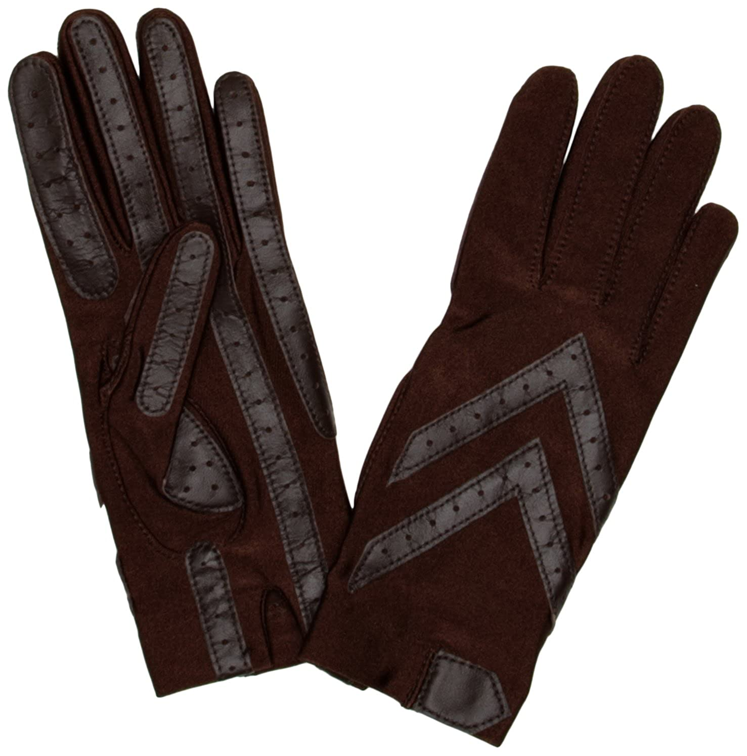 Driving gloves isotoner - Isotoner Women S Original Spandex Gloves Brown One Size Amazon Co Uk Clothing