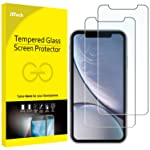 JETech Screen Protector for iPhone XR 6.1-Inch, Tempered Glass Film, 2-Pack