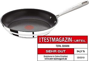 Tefal Jamie Oliver Pfannenset, 3-teilig, bestehend aus E85602 20cm, E85604  24cm, E85606 28cm