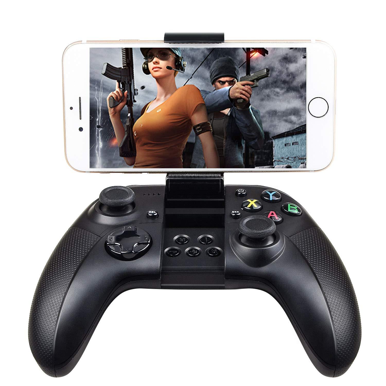GIVBRO☛ GBW18 Manette de Jeu sans Fil Bluetooth pour iOS/Android/iPhone/iPod/iPad Noir