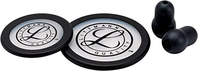 3M Littmann Stethoscope Spare Parts Kit, Classic III (Black)