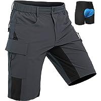 Wespornow Men's-MTB-Shorts Mountain-Bike-Shorts Loose-Fit-Baggy-Cycling-Bicycle-Biking-Shorts