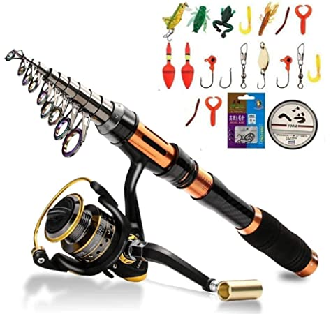High Altitude Lightweight Backpacking Telescopic Fishing