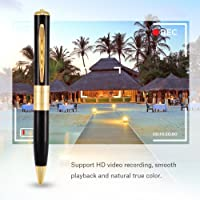 Spy Camera 32GB Full HD Pen Camera Audio/Video(1 Year Warranty) Updated Model 2020 Everything is Updated and Best…
