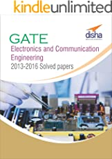 GATE Electronics and Communication Engineering 2013-16 Past Solved papers
