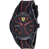 Scuderia Ferrari Orologio Analogico Quarzo da Unisex con Cinturino in Silicone 830481