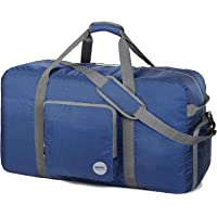 Foldable Duffle Bag 100L, Super Lightweight Travel Duffel for Luggage Sports Gym Water Resistant Nylon by WANDF