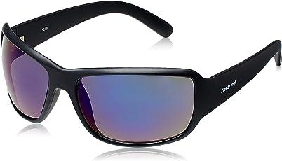 Fastrack Springers Wrap Unisex Sunglasses (P294BU2 63 Black)